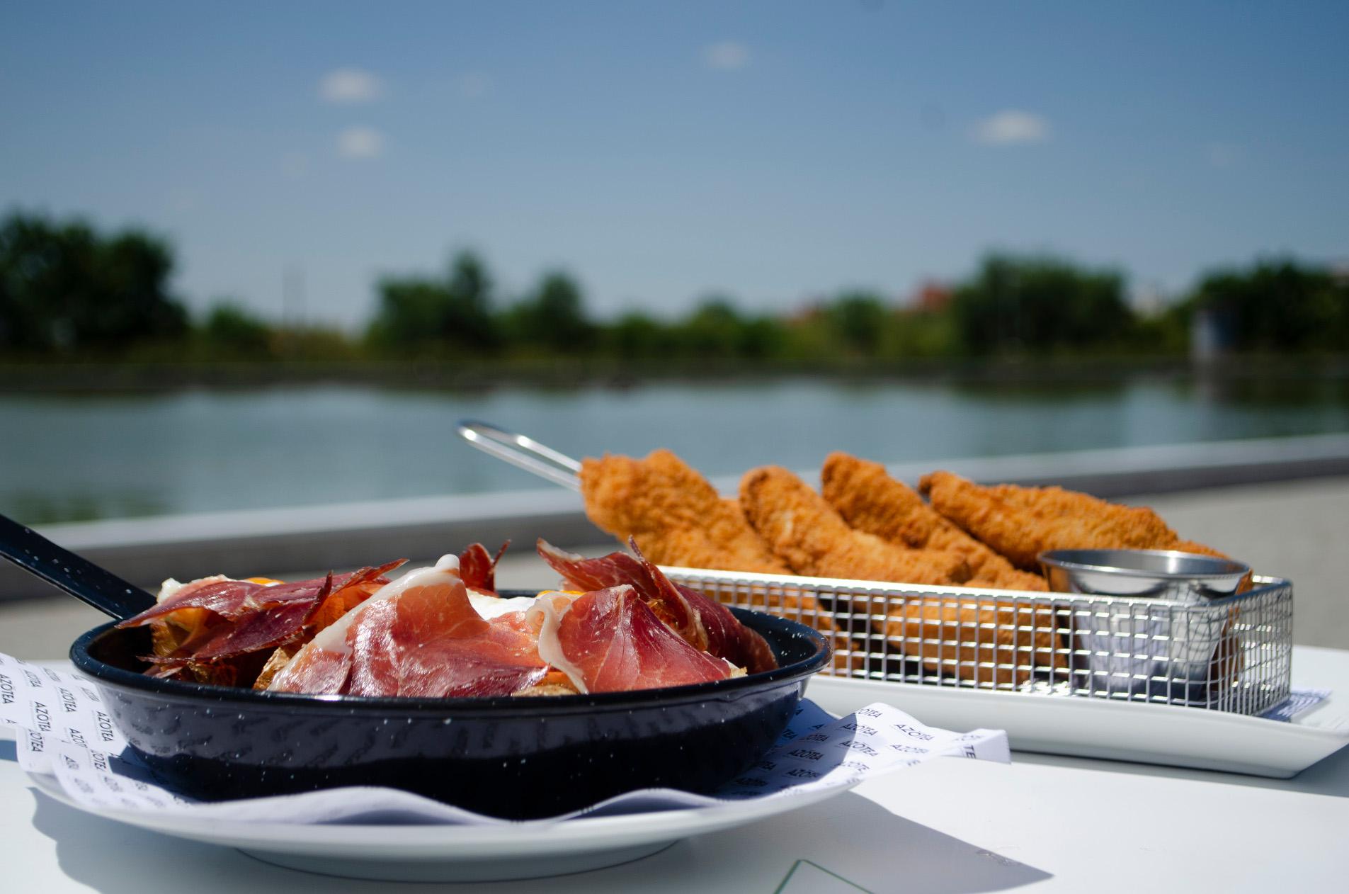 Comidas y cenas en un entorno privilegiado